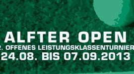 Aktuelle Ergebnisse der ALFTER OPEN 2013