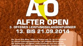 3. ALFTER OPEN - Einladung