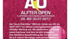 TC Alfter OPEN- jetzt anmelden!